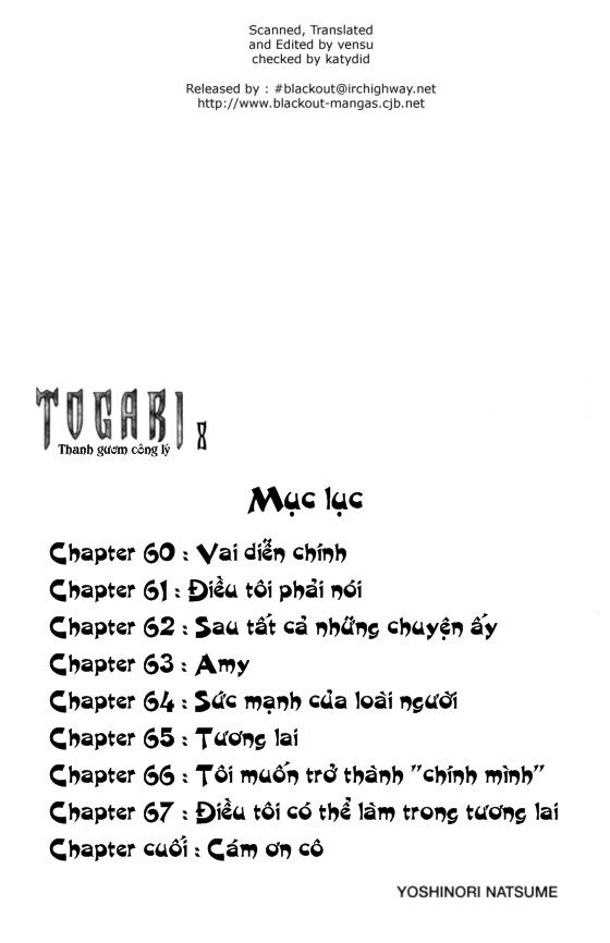 Togari chap 060 trang 3