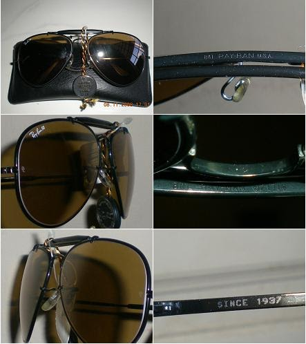 b5baf83d0e All About Rayban Made in USA  B L Ray Ban USA THE GENERAL BLACK
