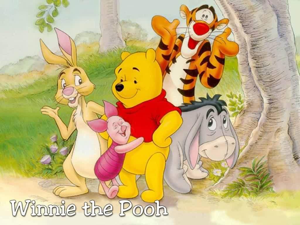 Winnie The Pooh Kind Polite Cute Beauty Smart