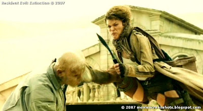 Superstar Resident Evil Extinction Nude Scene HD
