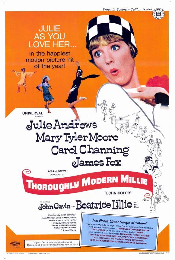 Vagebond's Movie ScreenShots: Thoroughly Modern Millie (1967)