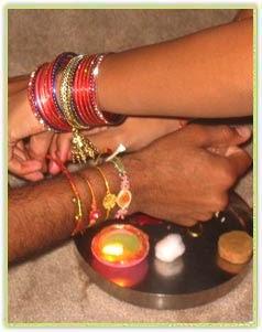 hindu rituals and routines raksha bandhan. Black Bedroom Furniture Sets. Home Design Ideas