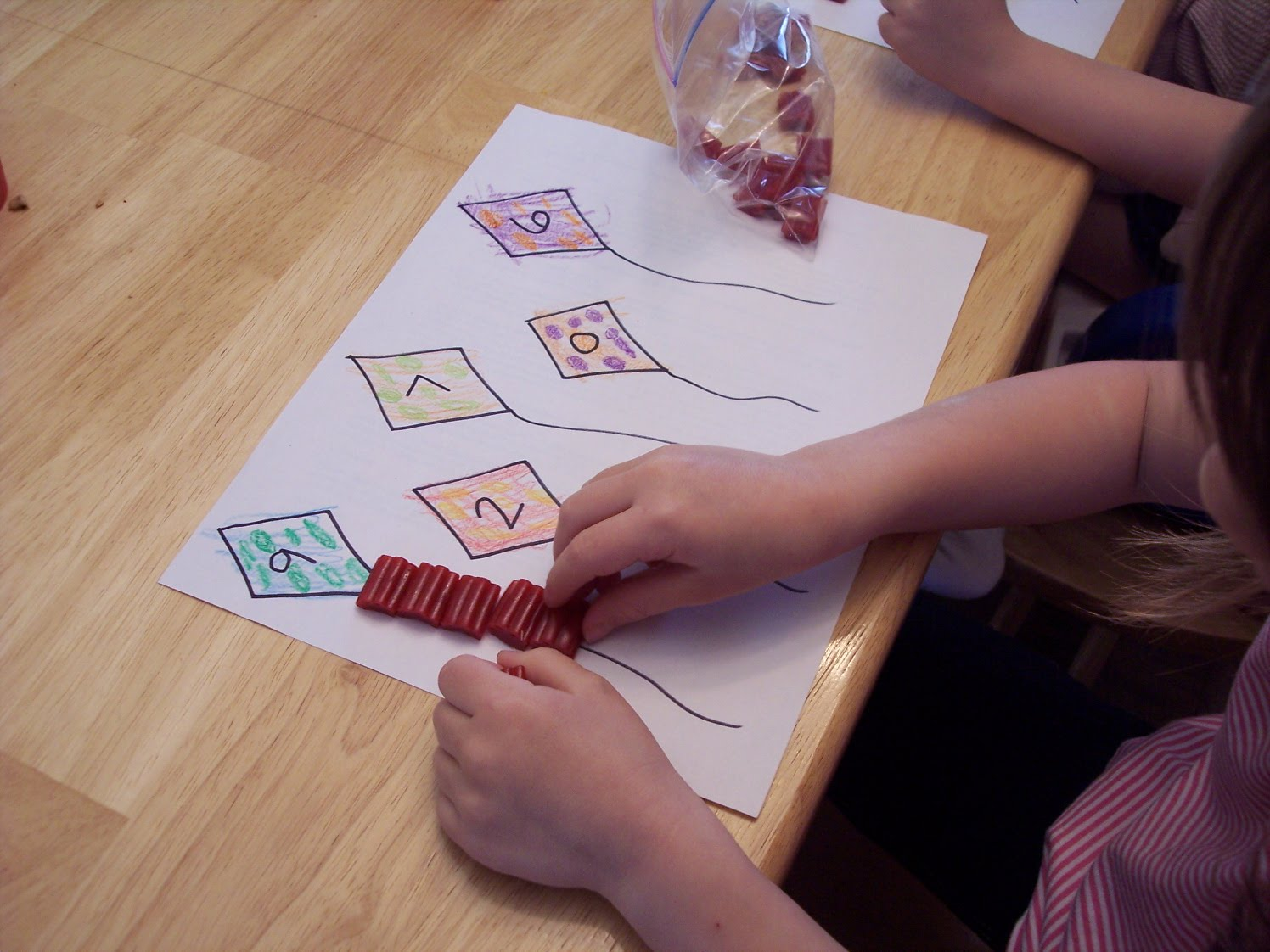 Kite Math And Snack