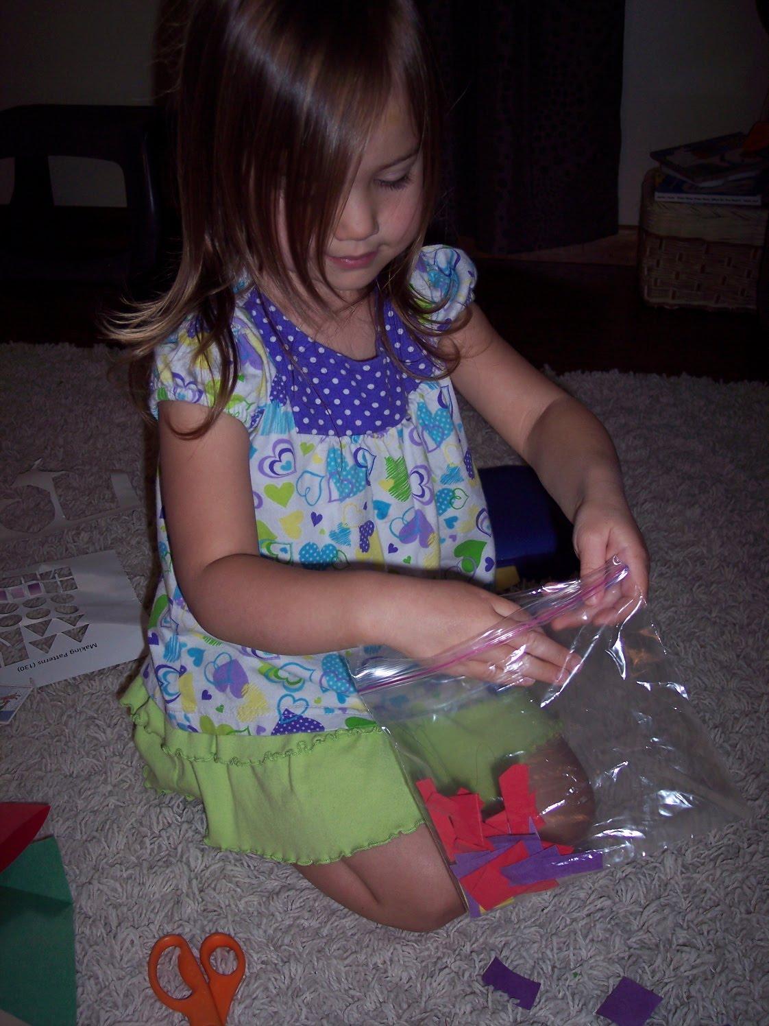 Scrap Paper Butterfly
