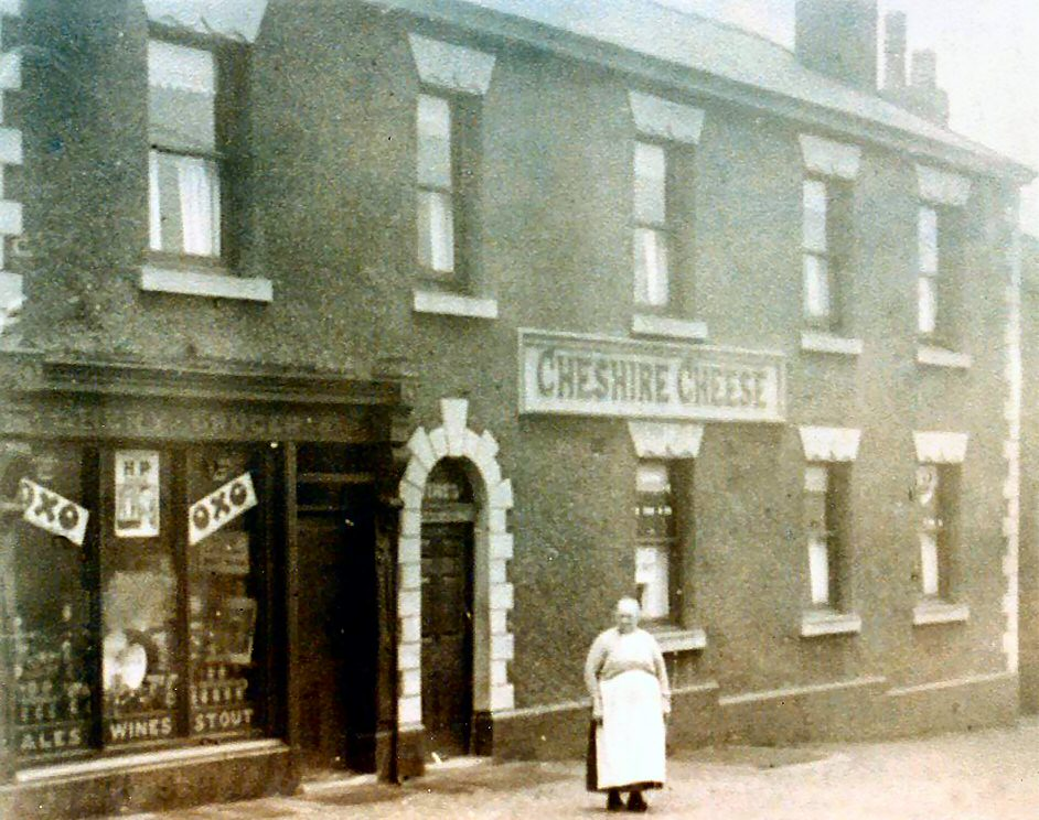 Old Hyde: Cheshire Cheese, Gee Cross, 1982 and earlier