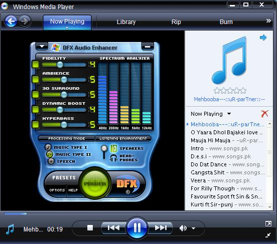 DFX Audio Enhancer v8.405 (Window Media Player) (IMPROVE AUDIO QUALITY) (IMPROVE BASE)