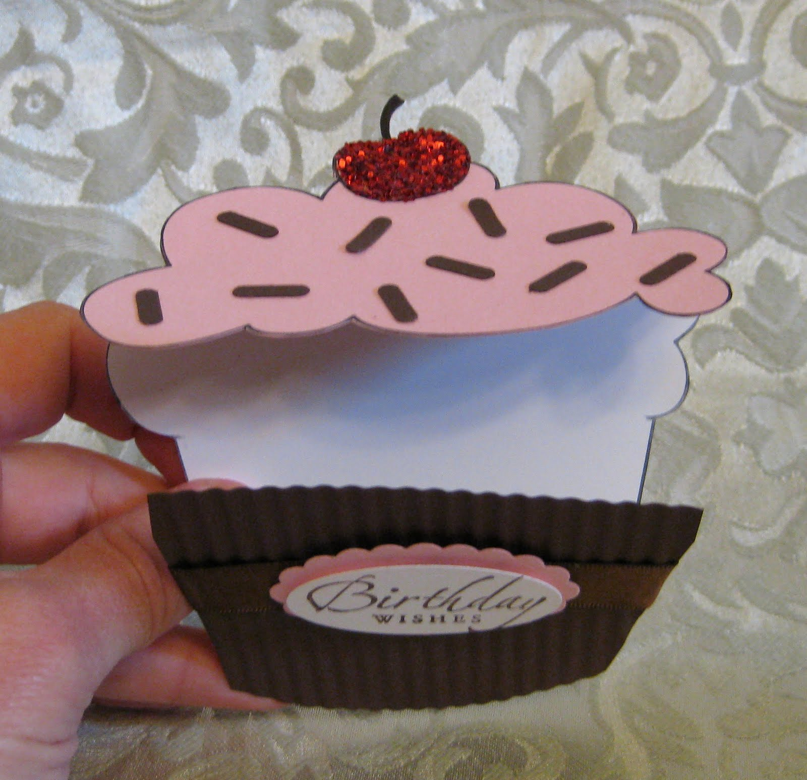 Stamp-n-Design Store: Cupcake Shaped Treat Cup & Card