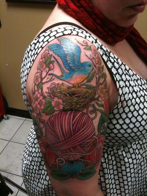 7f814084887d Den kommer liksom sitta där för alltid... Det senaste jag snöat in på är i  alla fall stick-relaterade tatueringar, kolla bara på dessa snygga: ...