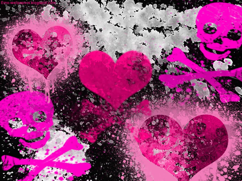 girly gothic backgrounds and wallpaper - photo #20