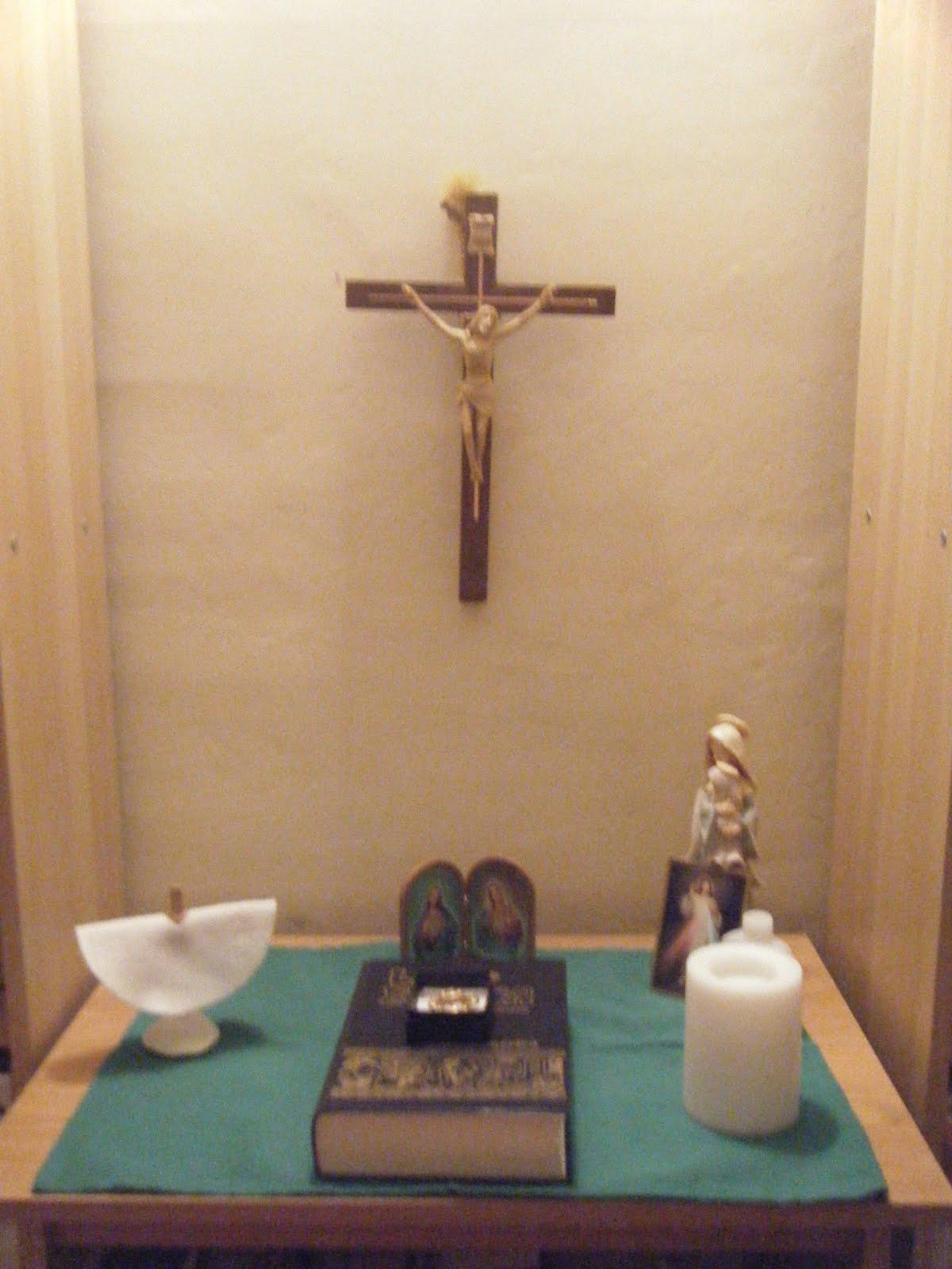 Familia Catlica El Altar en Casa y el Calendario Litrgico
