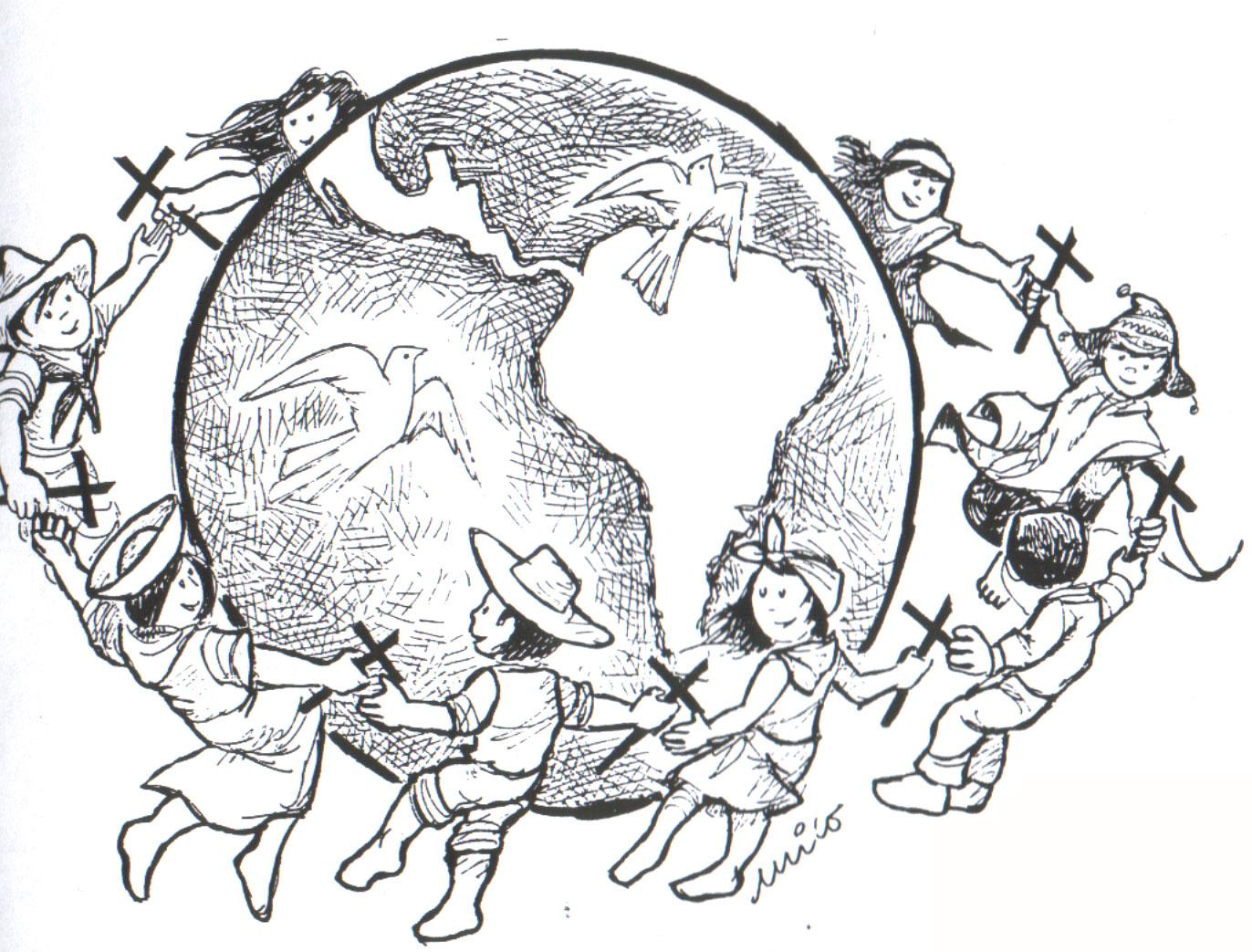 Dibujos De Las Misiones: Familia Católica: Material Para Usar En Familia Durante