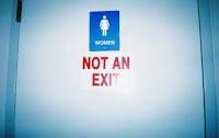 Cartello Per Bagno Signore : Il dottor stranoweb: strani cartelli: toilette o uscita?