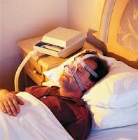 Ношение во время сна маски при апноэ