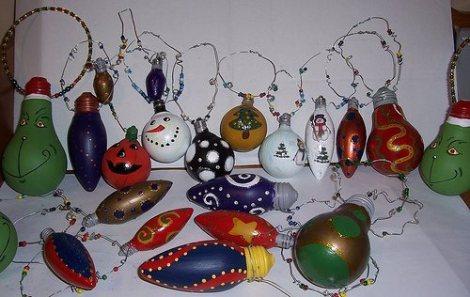 El arte de reciclar bombillas decoradas - Bombillas decoradas ...