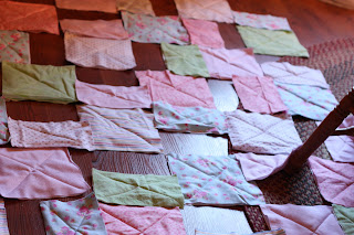 How To Make A Baby Rag Quilt - I Can Teach My Child!