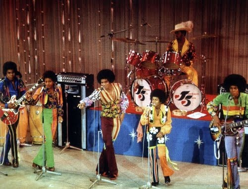 the jackson five on stage