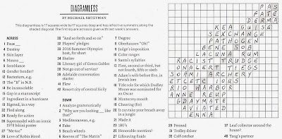 The New York Times Crossword in Gothic: 06.13.10 — Strings