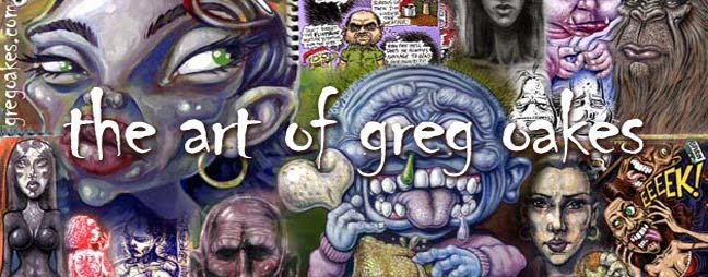 The Art of Greg Oakes