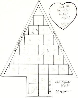 Julia's Place: Tree Advent Calendar..tutorial
