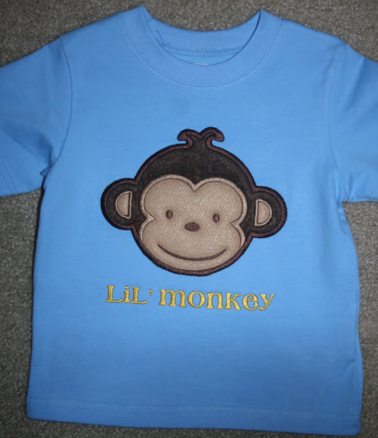Trucks And Tutus Boutique Mod Monkey Birthday Shirt