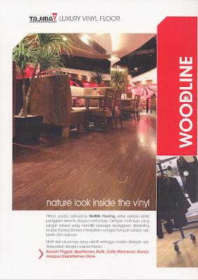 Tajima Wood Vinyl Floor Building Materials