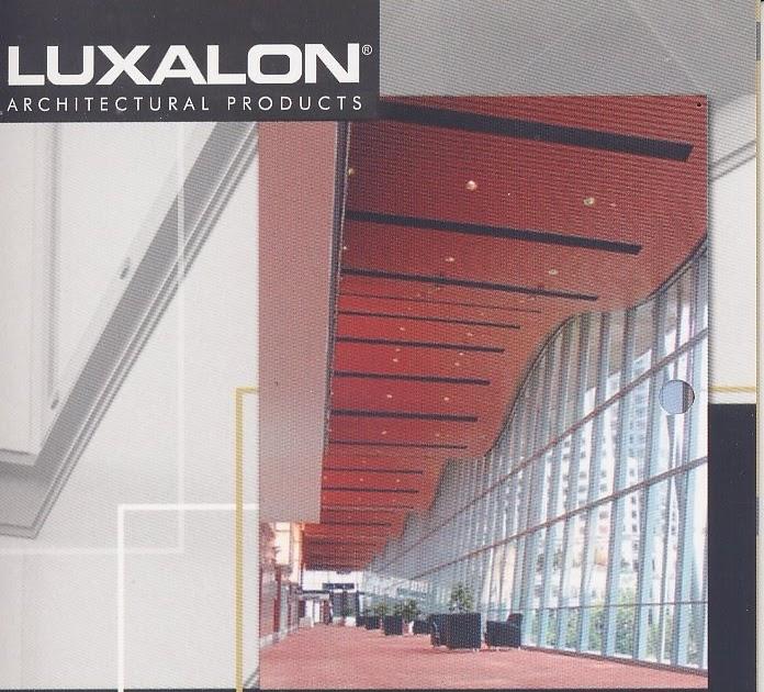 Luxalon Aluminium Cladding And Ceiling Building Materials