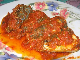 Ikan Sarden Masak Pedas