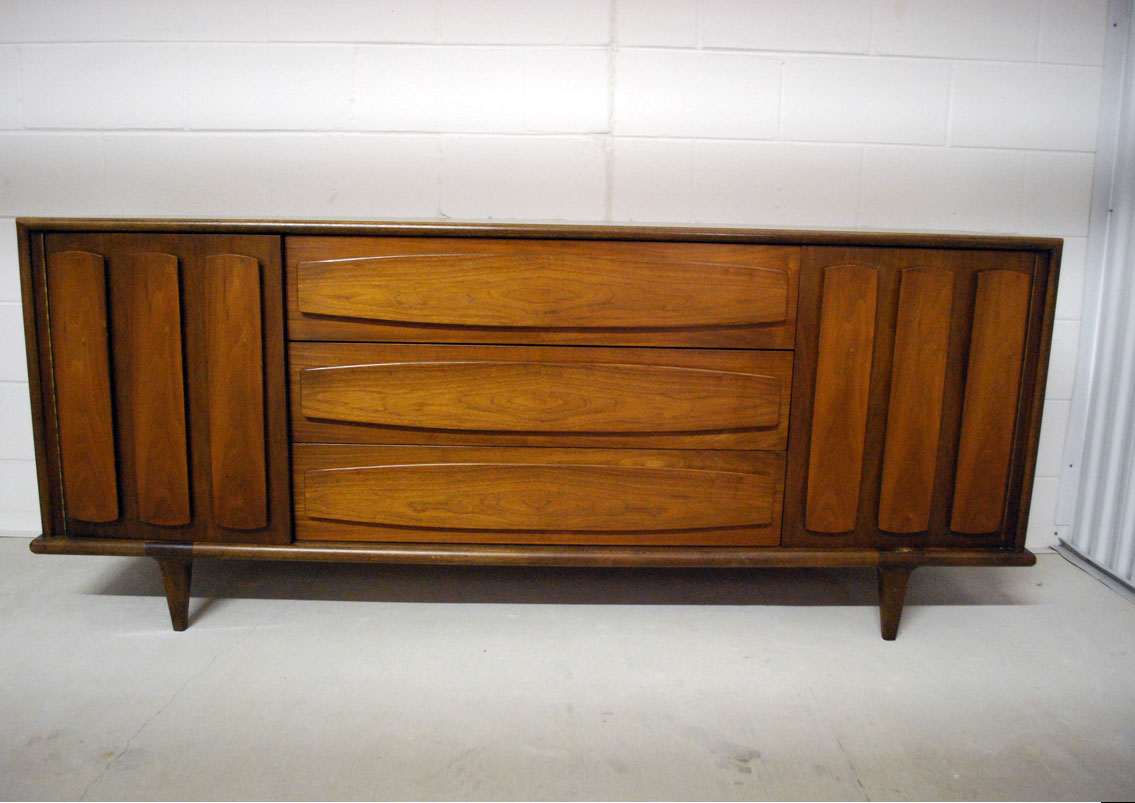 junk2funk mid century american of martinsville bedroom set 18039 | credenza