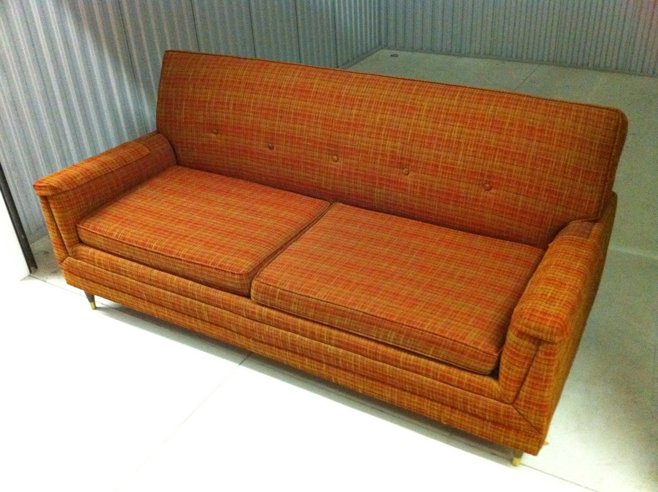 a sofa in the forties how to fit and dining table small living room junk2funk 1940 39s masquerader bed by flexsteel