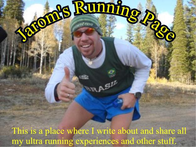 Jarom's Running Page