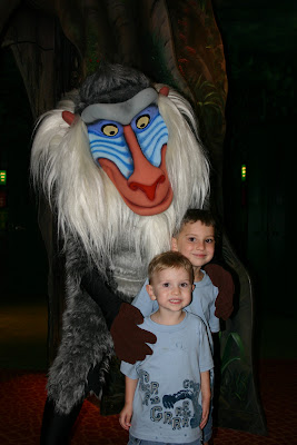 Rafiki (Colby loves Lion King)