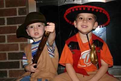 Zorro the cowboy?