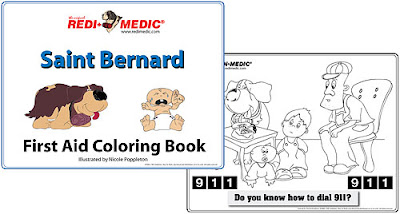 customized first aid free first aid coloring book