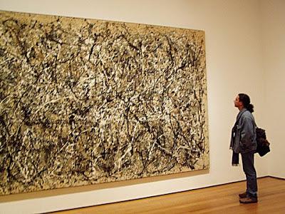 Pollock foi criativo