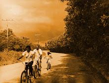 Ciclistas do Lamí