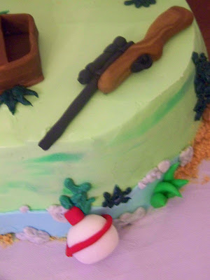 Claudine Hunting And Fishing Cake