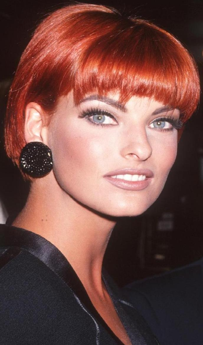 Linda Evangelista Covers The 35th Anniversary Issue Of: Fashion Style: Linda Evanghelista