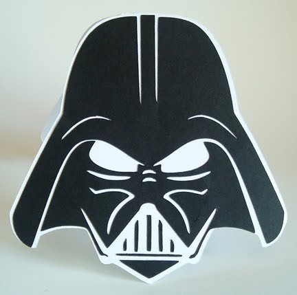 Cricut Cardiologist Darth Vader Birthday Card
