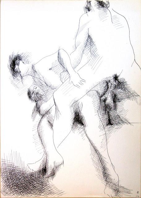 dessin erotique double penetration