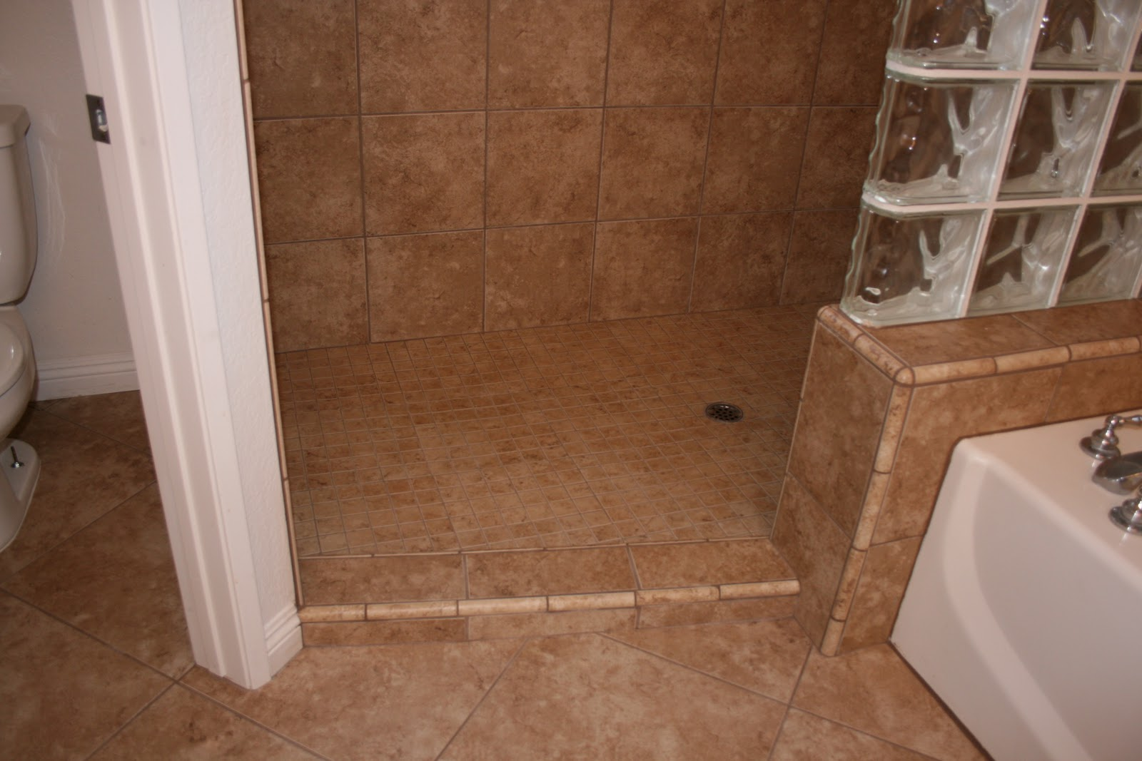 No Curb Bathroom Design Ideas ~ Reading your lips our new doorless shower
