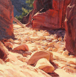 Zion painting by Kate Starling