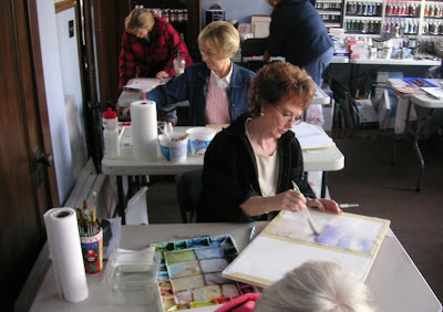 Roland Lee Watercolorpainting Workshop