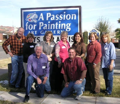 February 2008 watercolor painting workshop with Roland Lee