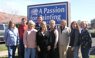 Artists include l to r: Lola Krummenacher, Paige Jeffs, Bev Hagadorn,Roland Lee, Erica Shea, Karen Bettilyon, Kay Besteman, Carrie Ruppe, and Gail Alger
