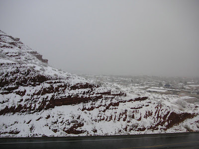 Snow in St. George Utah