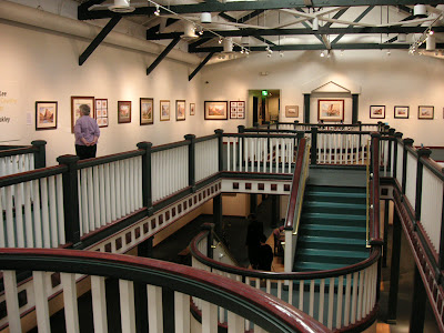 Roland Lee's Canyon Country exhibit at the Stt. George Art Museum