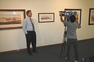 Roland Lee interviewed for KCSG TV news