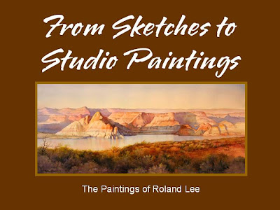 Powerpoint demonstration presented to Southern Utah Watercolor Society in Cedar City