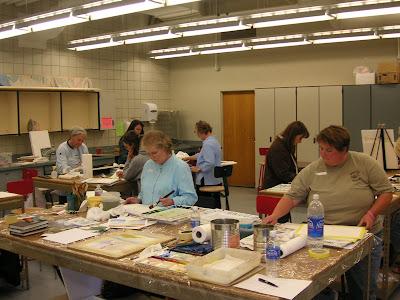 Roland Lee watercolor painting workshop June 2007