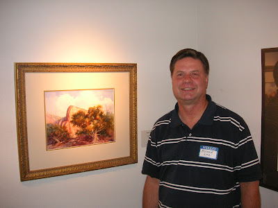 Roland Lee wins Best of Show award at SUWS exhibit at St. George Art Museum